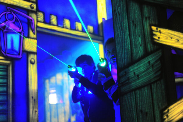 laser tag networking cornwall